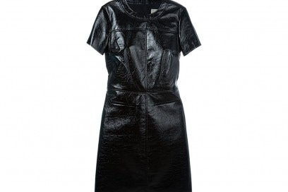 MICHAEL MICHAEL KORS  faux leather mini dress_FF