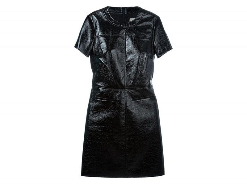 MICHAEL MICHAEL KORS  faux leather mini dress_FF