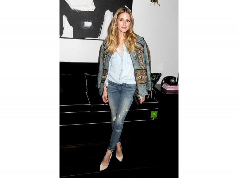 Olivia Palermo in H&M Conscious Exclusive