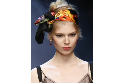 accessori capelli primavera 2016 doloce e gabbana