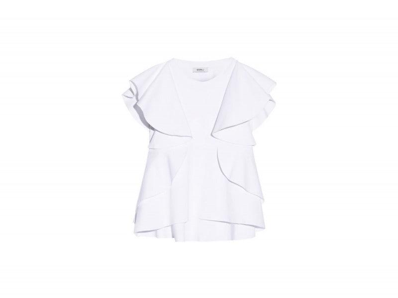 blusa con rouches Goen J
