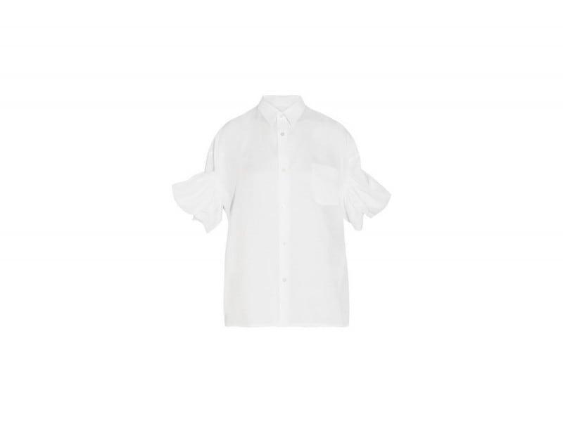 camicia con maniche a sbuffo junya watanabe
