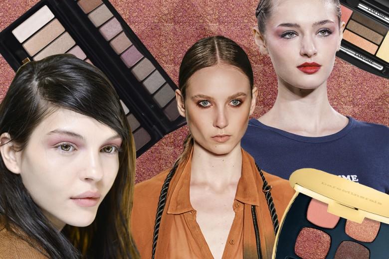 12 idee per il trucco occhi con le nuove palette di ombretti