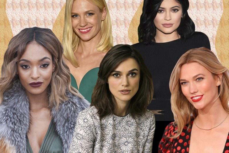 Tagli capelli medi: i long bob più belli delle star