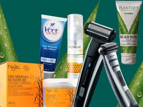 prodotti per la depilazione maschile