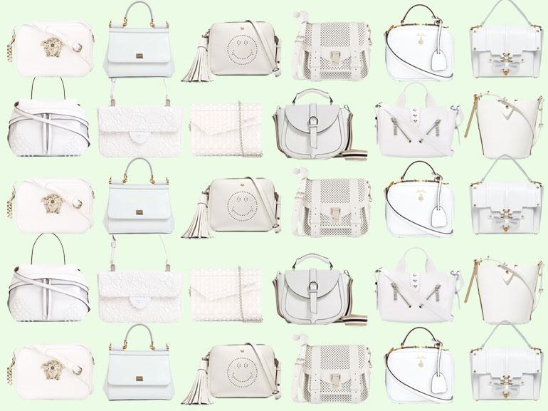 cover borse bianche i modelli più chic mobile
