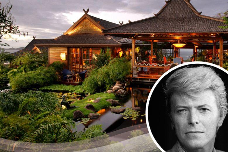 La villa di David Bowie ai Caraibi è in affitto