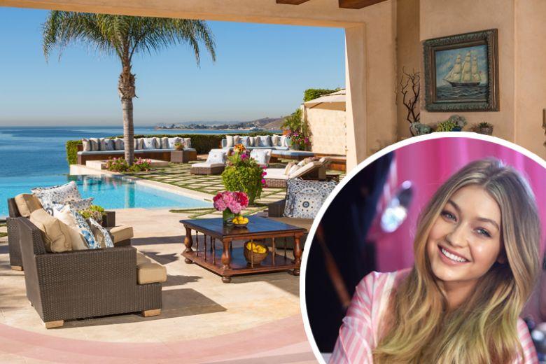 La casa di famiglia di Gigi Hadid a Malibu