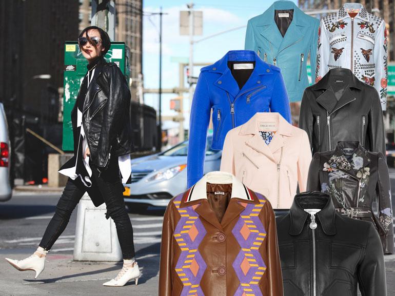 cover giacche di pelle mobile