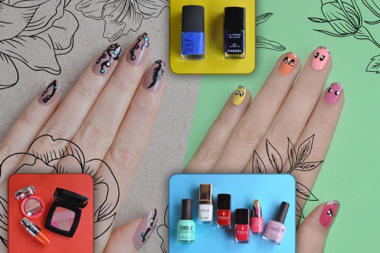 Le nail art di Non solo Kawaii per la Primavera