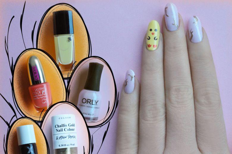Nail art di Pasqua: il tutorial di Non solo Kawaii