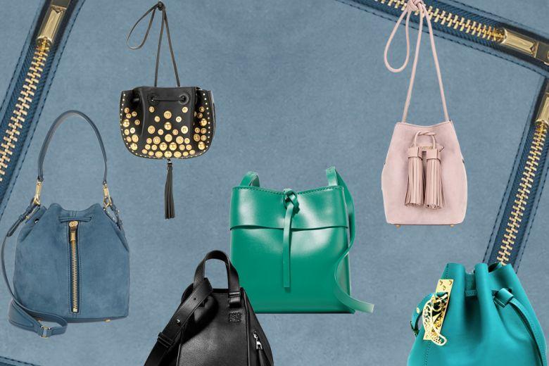 Le borse secchiello per la Primavera-Estate 2016