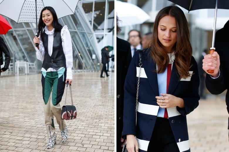 Louis Vuitton: le immagini di street style di Tamu McPherson