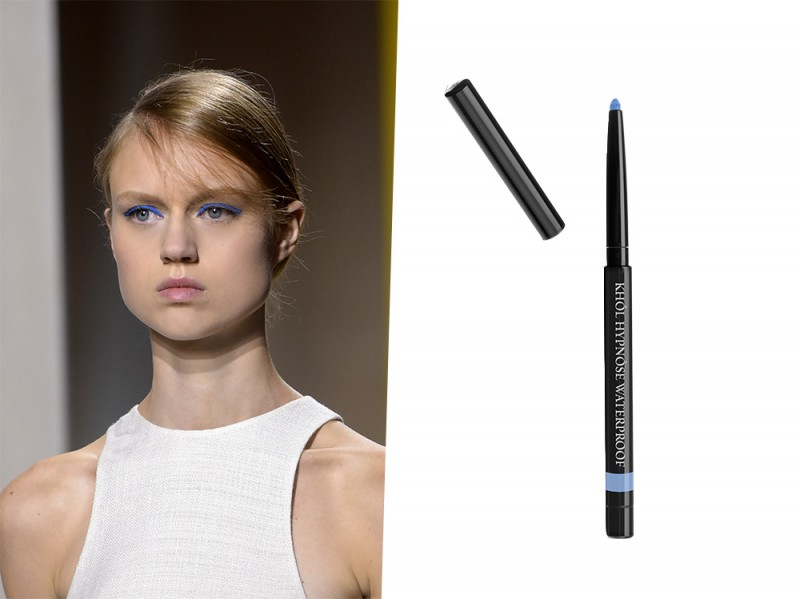 eyeliner azzurro
