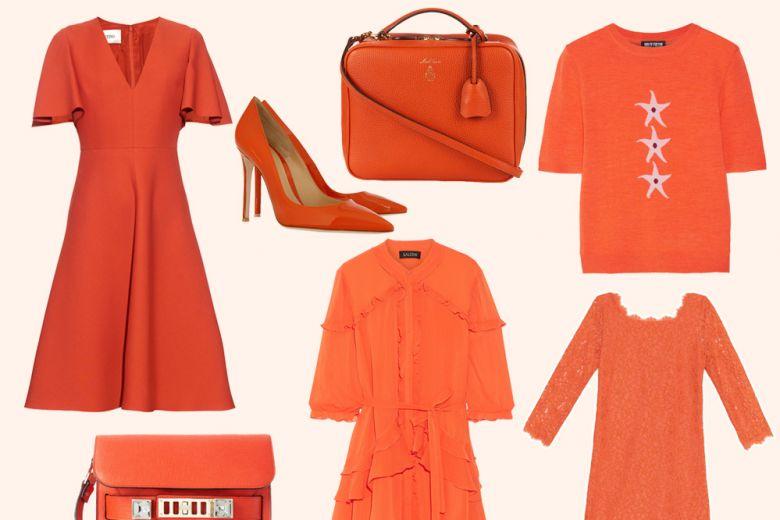 Tutte pazze per l'arancione: i capi e gli accessori per la Primavera-Estate 2016