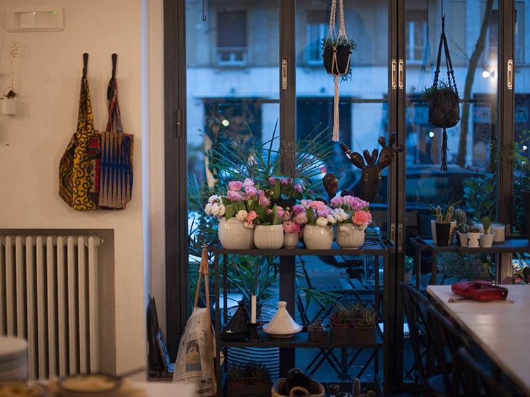 vetrata fiori