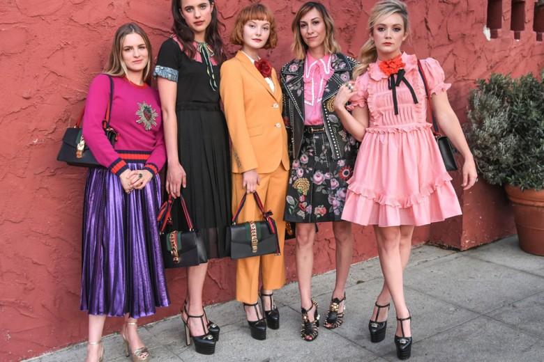 Cool girls wear Gucci