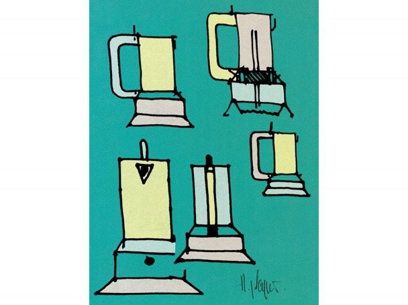 03_9090_disegno_Richard-Sapper_2000_caffettiera-espresso-elettrica_ph.-by-Archivio-Alessi