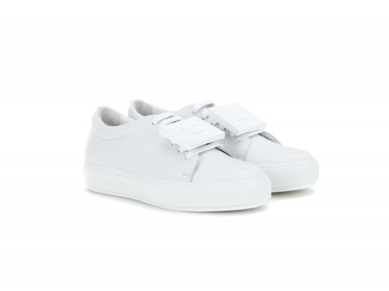 ACNE STUDIOS Sneaker Adriana in pelle_mytheresa