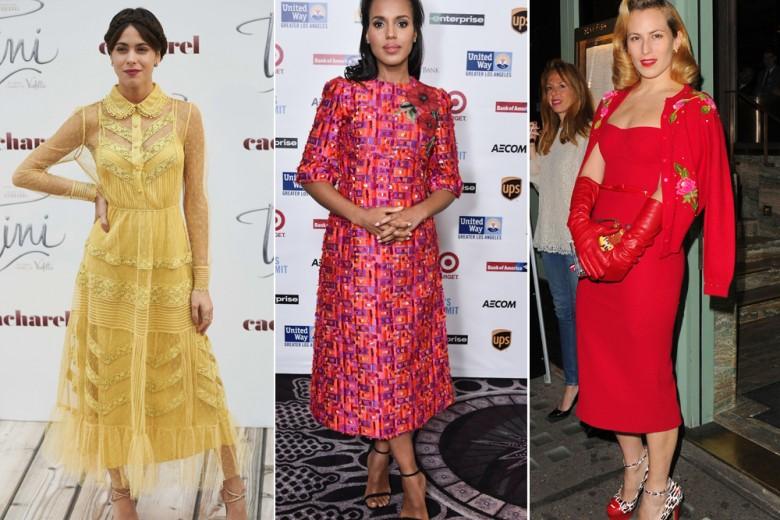Le best dressed della settimana, da Elizabeth Olsen a Katie Holmes