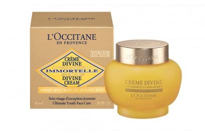 Creme Divine Immortelle SPF20_L'Occitane