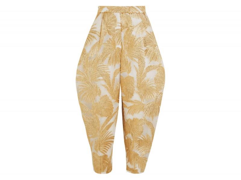 DELPOZO Jacquard tapered pants_NET