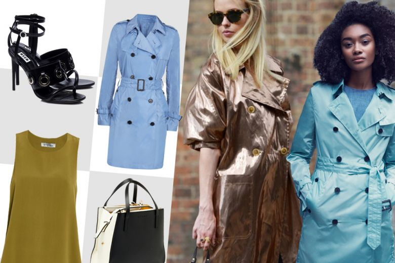 Shopping: shiny trench!