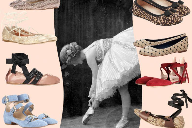 Le ballerine per la Primavera-Estate 2016