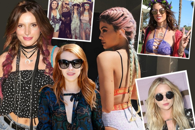 Coachella 2016: i make up e i look capelli delle celebrities