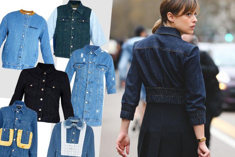 Shopping: denim jackets!