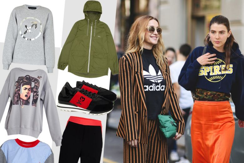 Shopping: sporty combo!