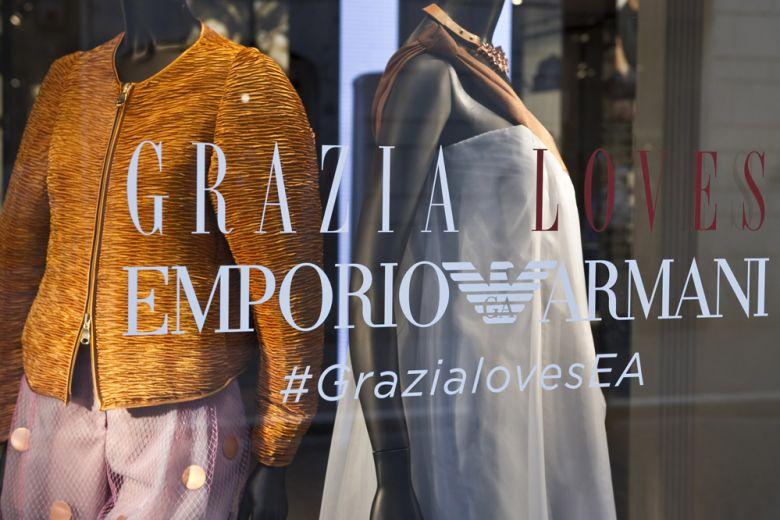 Grazia Loves Emporio Armani: le prime tappe a Roma e a Napoli