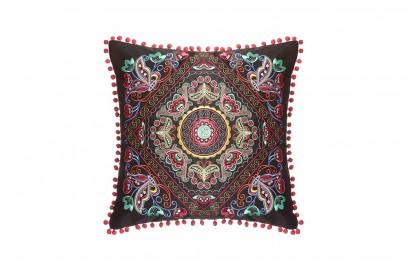 Kimball-53546MISSING-Optomi Pom Pom Cushion, Grade ROI 37 IB 52 FR 6, Wk 37, €10 $11