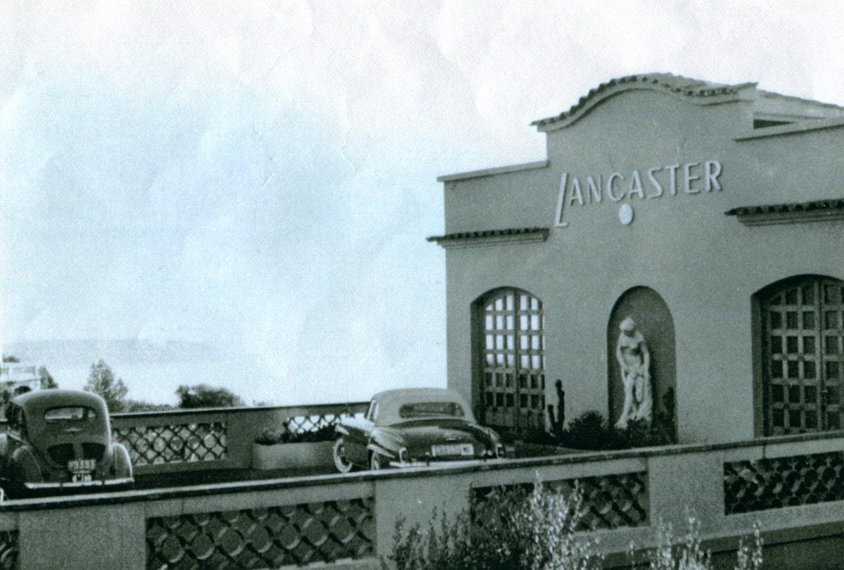 LANCASTER front of laboratories