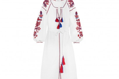 MARCH11 Poppy embroidered linen dress_NET