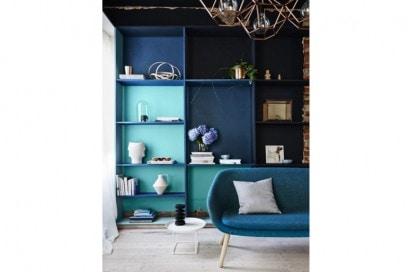 Palette turchese e blu