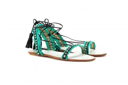 aquazzurra-sandali-bassi-verde