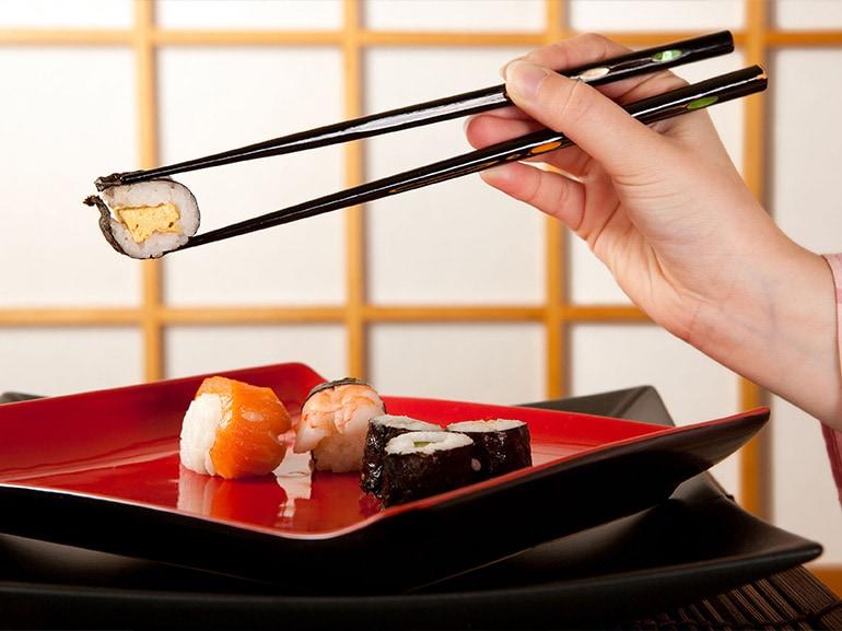 bacchette sushi