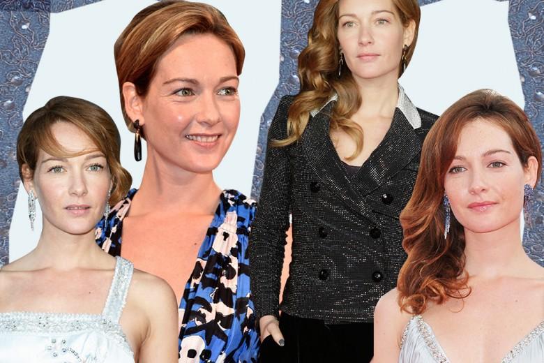 Cristiana Capotondi: capelli rossi e acconciature eleganti