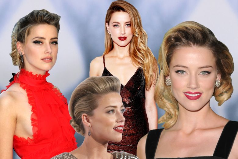Amber Heard: i beauty look più belli