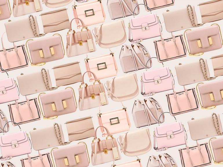 cover borse rosa primavera 2016 mobile