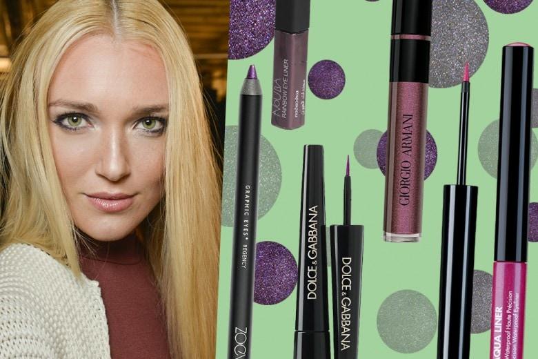 Eyeliner per occhi verdi: i colori giusti per valorizzarli