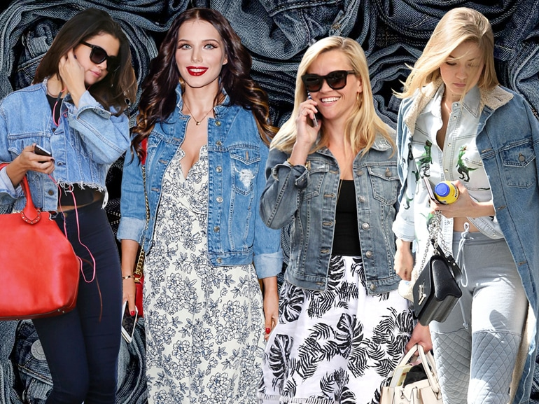 cover giacche in denim i modelli must delle star mobile