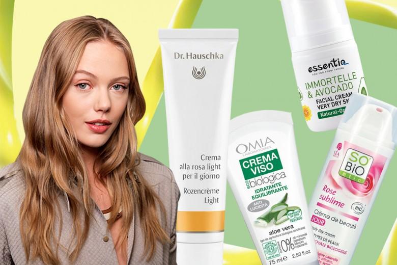 Le creme viso bio per una cura della pelle al naturale