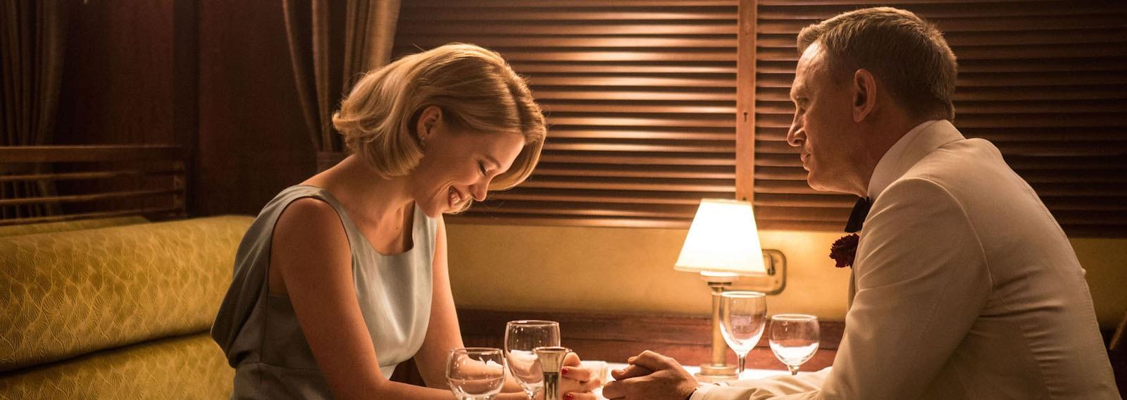 Lea Seydoux;Daniel Craig