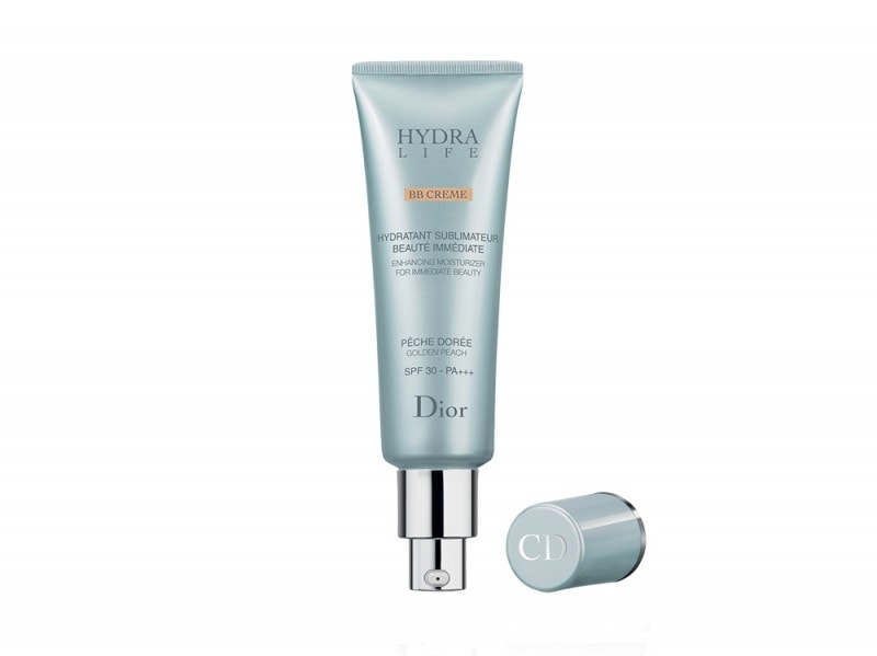 dior hydra life bb cream swatch review definitivo