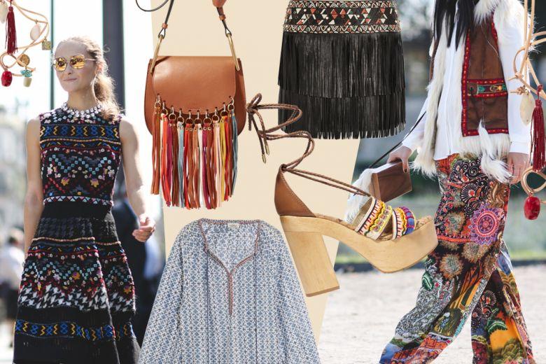 Stile etnico: i pezzi must-have per la Primavera-Estate 2016