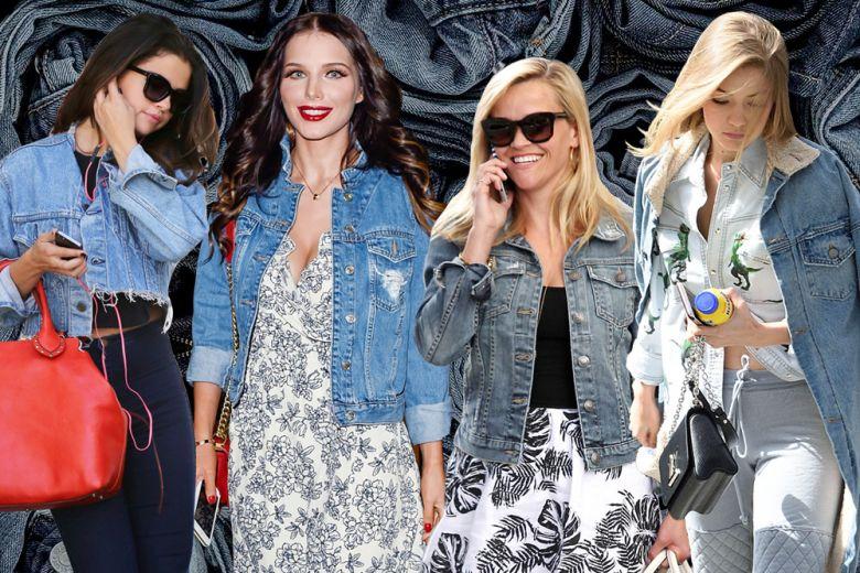 Giacche in jeans: i modelli must delle star