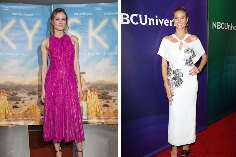 Le star best dressed della settimana: Diane Kruger, Heidi Klum e le altre