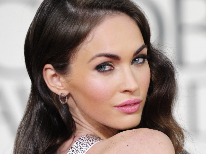 Actress Megan Fox arrives with a guest f
